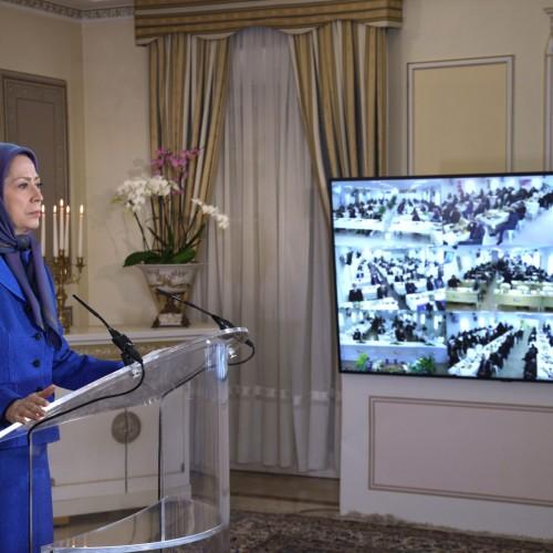 سخنرانی مریم رجوی به مناسبت ماه مبارک رمضان  در کنفرانس همبستگی عربی- اسلامی با مردم و مقاومت ایران – ۲۵فروردین ۱۴۰۰