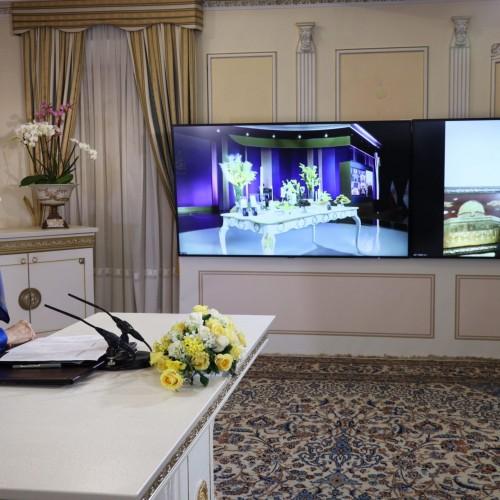سخنرانی دکتر شیخ تیسیر تمیمی – قاضیالقضات سابق فلسطین در کنفرانس همبستگی عربی- اسلامی با مردم و مقاومت ایران