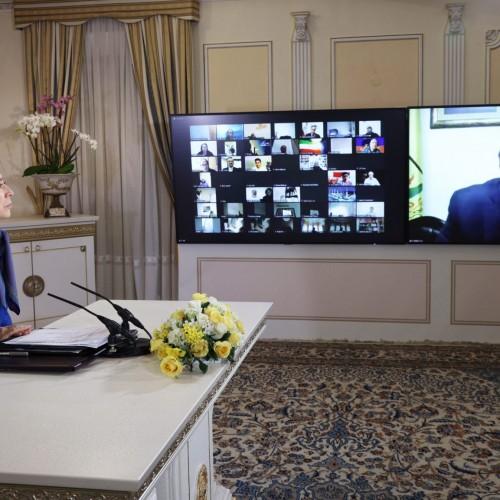 سخنرانی احمد بوحشیش نایبرئیس پارلمان فلسطین در کنفرانس همبستگی عربی- اسلامی با مردم و مقاومت ایران