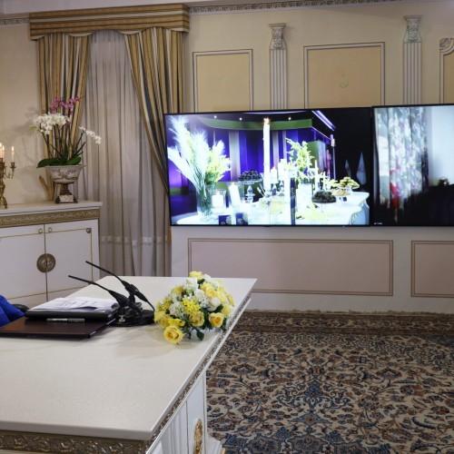 سخنرانی خاخام موشه لوین، نایبرئیس کنفرانس خاخام های اروپا در کنفرانس همبستگی عربی- اسلامی با مردم و مقاومت ایران