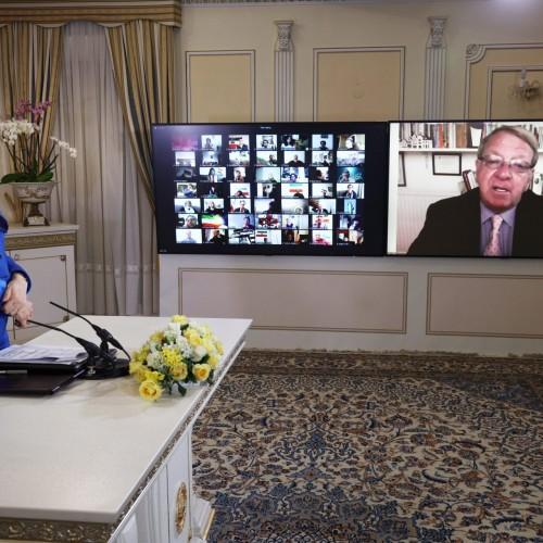سخنرانی استرون استیونسون نماینده سابق پارلمان اروپا و رئیس انجمن اروپایی آزادی عراق، در کنفرانس همبستگی عربی- اسلامی با مردم و مقاومت ایران