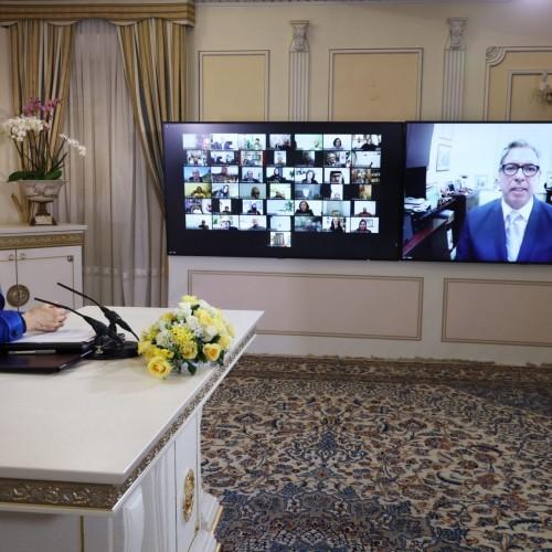 سخنرانی مارک گینزبرگ سفیر پیشین آمریکا در مراکش در کنفرانس همبستگی عربی- اسلامی با مردم و مقاومت ایران