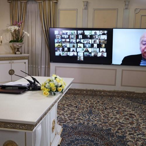 سخنرانی اسقف ژاک گایو از فرانسه، در کنفرانس همبستگی عربی- اسلامی با مردم و مقاومت ایران
