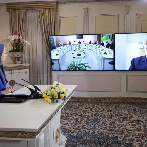 سخنرانی دکتر محمد الحاج نماینده پیشین پارلمان اردن در کنفرانس همبستگی عربی- اسلامی با مردم و مقاومت ایران