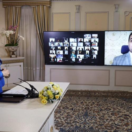 سخنرانی محمد عسکر وزیر پیشین حقوقبشر یمن، در کنفرانس همبستگی عربی- اسلامی با مردم و مقاومت ایران