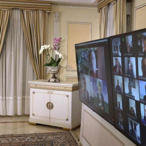 کنفرانس اینترنتی با حضور مریم رجوی، نمایندگان و سناتورهای فرانسه- ۲۶فروردین ۱۴۰۰