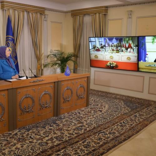 سخنرانی دکتر منوچهر هزارخانی، مسئول کمیسیون فرهنگ و هنر، در اجلاس میاندورهیی شورای ملی مقاومت ایران