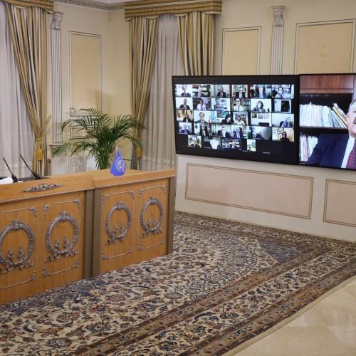 سخنرانی مسلم اسکندر فیلابی، مسئول کمیسیون ورزش در اجلاس میاندورهیی شورای ملی مقاومت ایران