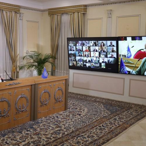 سخنرانی ابراهیم مازندرانی، نماینده کانون توحیدی اصناف، در اجلاس میاندورهیی شورای ملی مقاومت ایران