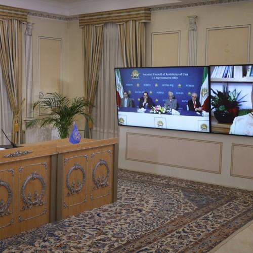 سخنرانی سونا صمصامی، نماینده شورا در آمریکا، در اجلاس میاندورهیی شورای ملی مقاومت ایران