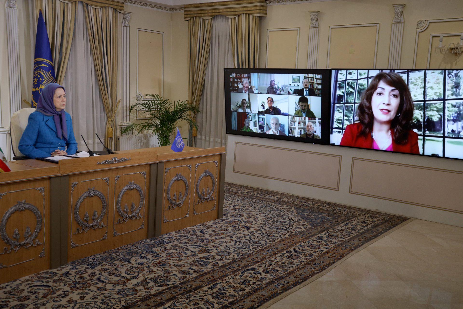 مریم رجوی: رای هر ایرانی سرنگونی است