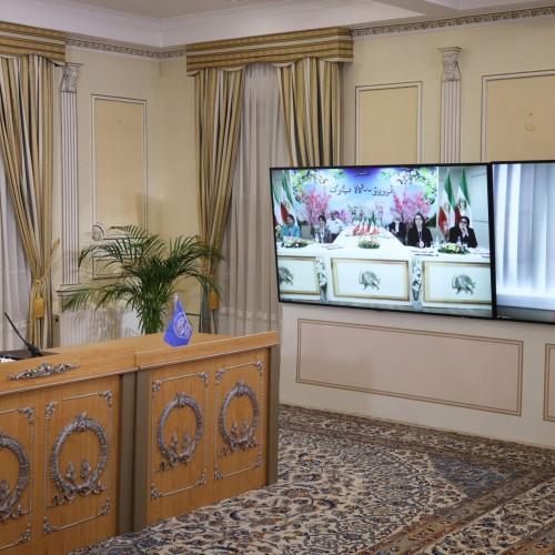 سخنرانی نسرین سیفی در اجلاس میاندورهیی شورای ملی مقاومت ایران