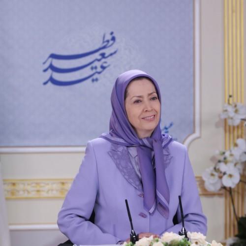 سخنرانی مریم رجوی به مناسبت عید سعید فطر – اشرف ۳