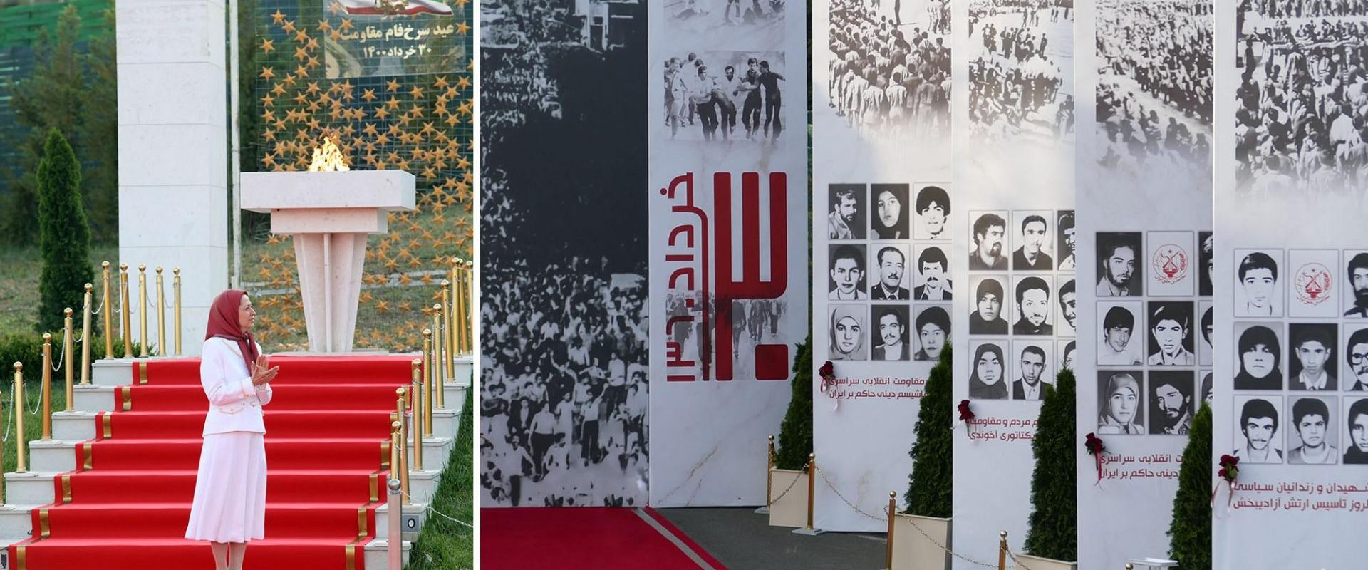 سی خرداد چهلمین سالگرد مقاومت، مرز بندی تاریخی بین آزادی و استبداد دینی