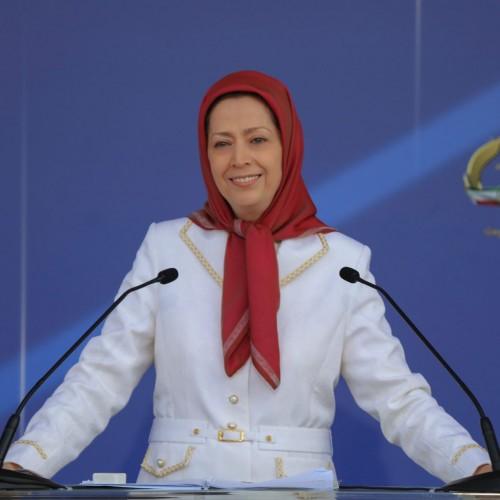 مریم رجوی در گردهمایی بهمناسبت ۳۰خرداد چهلمین سالگرد مقاومت- ۳۰خرداد ۱۴۰۰