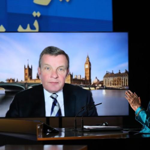 سخنرانی دیوید جونز وزیر برگزیت (۲۰۱۷) نماینده پارلمان انگلستان در روز دوم اجلاس جهانی ایران آزاد- اروپا – خاورمیانه در حمایت از مقاومت-۲۰تیر۱۴۰۰