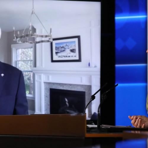 سخنرانی استفن هارپر نخستوزیر کانادا (۲۰۱۵) در اجلاس جهانی ایران آزاد- آلترناتيو دمكراتيک بسوی پيروزی - ۱۹تیر۱۴۰۰