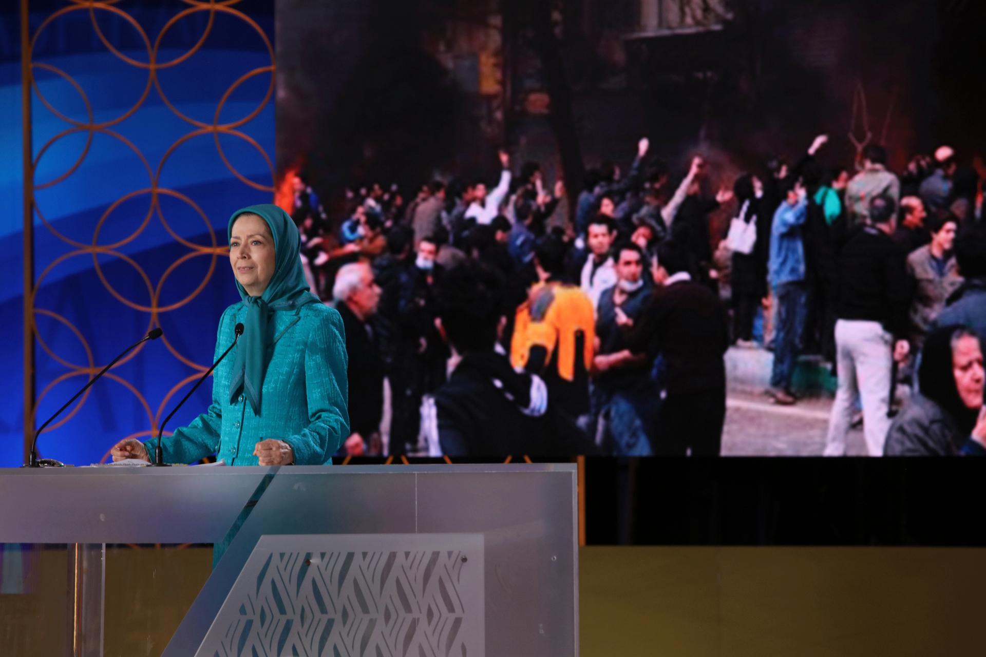سخنرانی دراجلاس شورای ملی مقاومت بهمناسبت چهلمین سالگرد تأسیس شورا