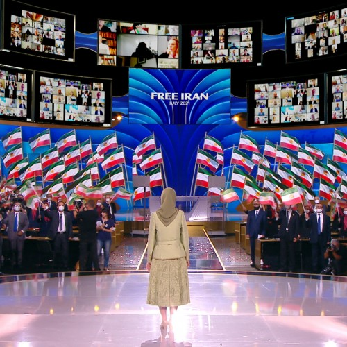 مریم رجوی در اجلاس جهانی ایران آزاد- آلترناتيو دمكراتيک بسوی پيروزی - ۱۹تیر۱۴۰۰