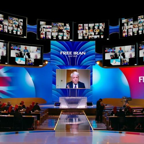 سخنرانی جان برکو - رئیس پارلمان انگلستان (۲۰۱۹) در اجلاس جهانی ایران آزاد- آلترناتيو دمكراتيک بسوی پيروزی - ۱۹تیر۱۴۰۰