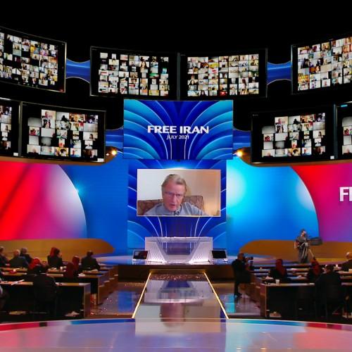 سخنرانی برنارد کوشنر وزیر خارجه فرانسه ۲۰۱۰ در اجلاس جهانی ایران آزاد- آلترناتيو دمكراتيک بسوی پيروزی - ۱۹تیر۱۴۰۰