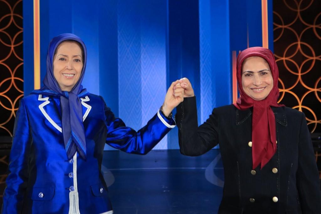 در اجتماع بزرگ مجاهدین در پنجاه و هفتمین سال تأسیس سازمان مجاهدین خلق ایران