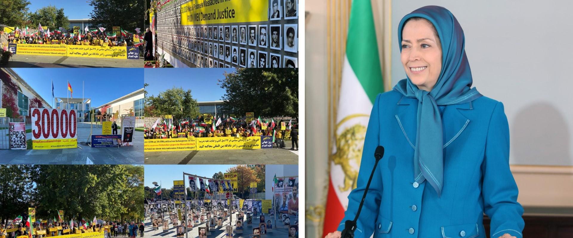 پیام مریم رجوی به مناسبت روز جهانی علیه مجازات اعدام